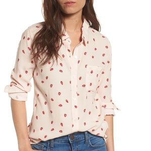 RAILS Rocsi Strawberry Print Shirt